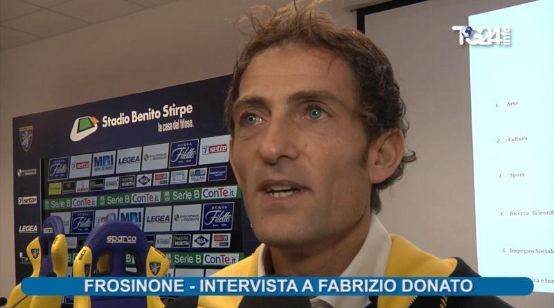 Fabrizio Donato nel Comitato Etico del Frosinone Calcio