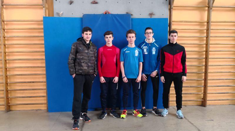 Brillanti Risultati per i Leoncini dell'Atletica Frosinone nel campionato Regionale Indoor