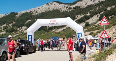 Calecara Supino 2018 corsa in salita