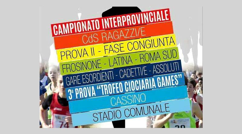 Campionati interprovinciale e Campionato di Società Ragazzi/e a Cassino