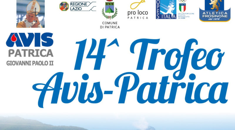 Trofeo Avis Città di Patrica 2019