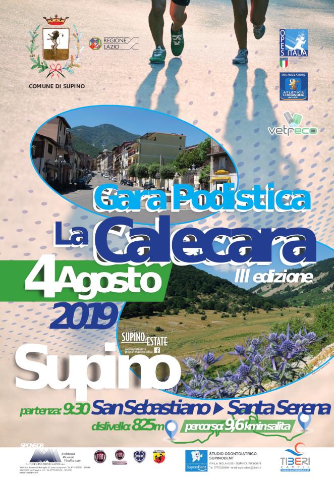 Calendario Gare Podistiche Lazio.Calecara 2019 Corsa Podistica Supino Santa Serena Atletica