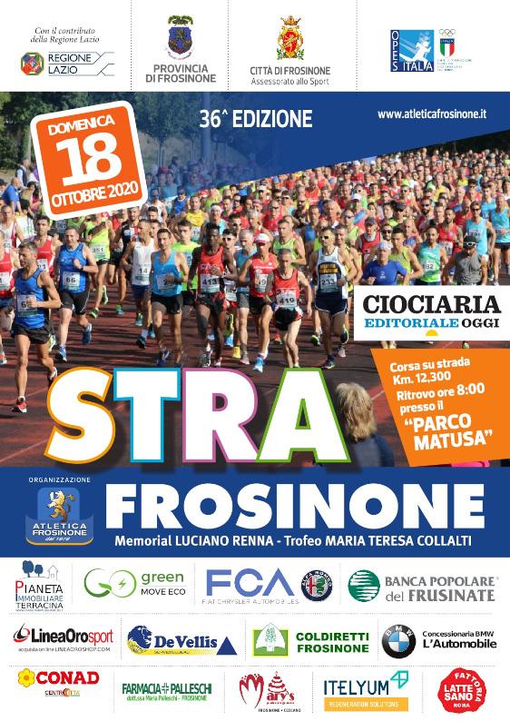 StraFrosinone domenica si torna a correre!!!
